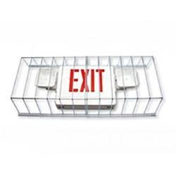Exit Sign Radiant-Lite WG-3 Exit/Emergency Light Wire Guard Radiant-Lite