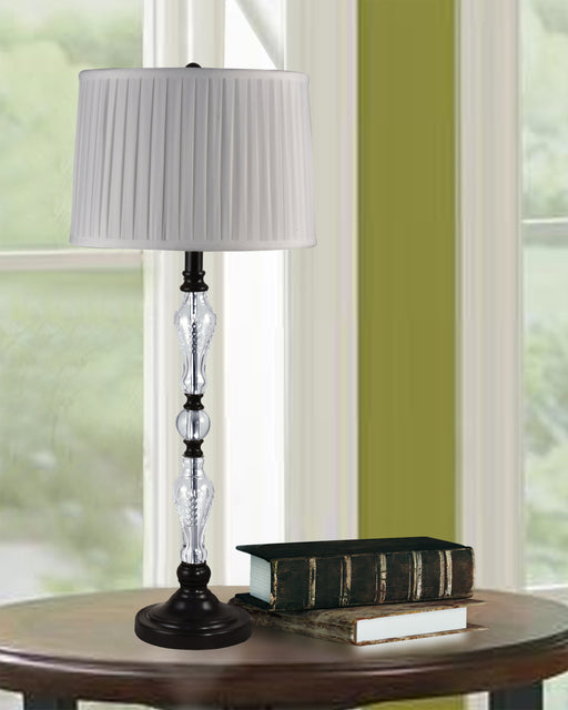 Dale Tiffany Theola 24% Lead Hand Cut Crystal Table Lamp