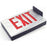 KXTEU1RBAEM DieCast Aluminum Battery Backup LED Red Exit Sign