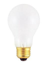 Case of 10-25-Watt Incandescent A19 MED Frost
