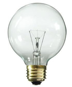 25-Watt Incandescent G25 MED Clear