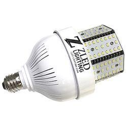 LED Corn Bulb ZLED C-E26-40-NW-STUB 40 Watts LED Stubby Corn Light 5000K - STOCK Zled