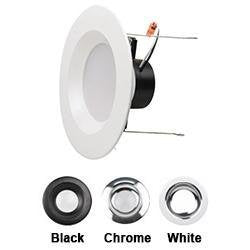 "LED Recessed Downlight NaturaLED LED4RL9-54L940 4"" 9W LED Recessed Downlight 4000K NaturaLED"