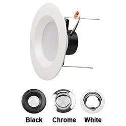"LED Recessed Downlight NaturaLED LED4RL9-54L950 4"" 9W LED Recessed Downlight 5000K NaturaLED"