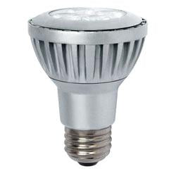 5.5 Watts LED PAR 20 4000K Dimmable 25° Degrees