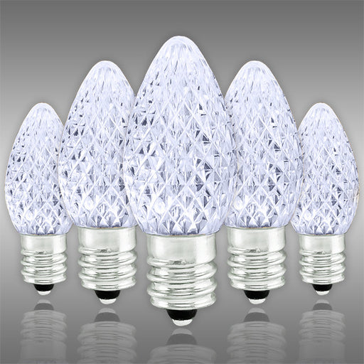 Bulbrite 0.35W LED C7 Clear Light Bulb LED/C7C (Case of 25)