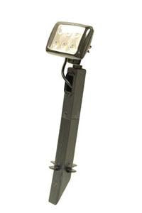 Landscape/Flood Light 6-1 Watt LED-Black 12-28V