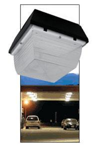 Metal Halide Canopy ***CLEARANCE*** Howard 12x12CV-70MH-4T 70 Watt Metal Halide Canopy 12 x 12 Howard Lighting