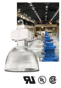Metal Halide High Bay Howard HAC16O-400-4T 16 Inch 400 Watt Metal Halide High Bay 5 Tap Acrylic Howard Lighting