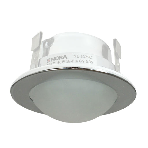 Nora Lighting NL-3325 3inch Frosted Shower Dome Lens With Reflector