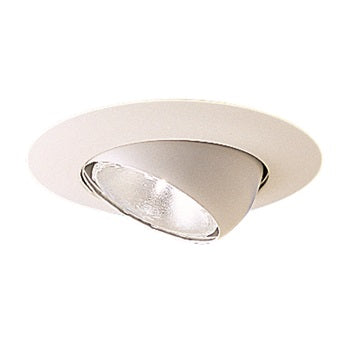 ***CLEARANCE*** Nora Lighting NT-28 6 inch White Adjustable Eyeball Trim
