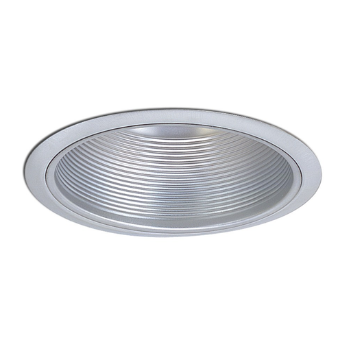Nora NT-5010N 5 Inch Natural Metal Stepped Baffle with Metal Ring and Bracket