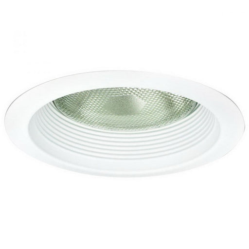 Nora NTM-726W 6 Inch Air-Tite Baffled Lensless Shower Trim; Aluminum Trim