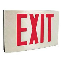 Best Lighting NYKXTEU-1-R-W-A-EM 5W Diecast Aluminum Exit Sign