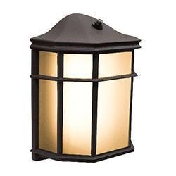 Outdoor Fixture With Photocell Westgate LRS-A-30K-PC 12W LED Residential Lantern with Photocell 3000K Westgate