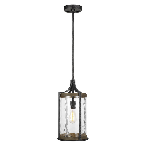"Feiss Angelo Distressed One Light 18"" Lantern Pendant"