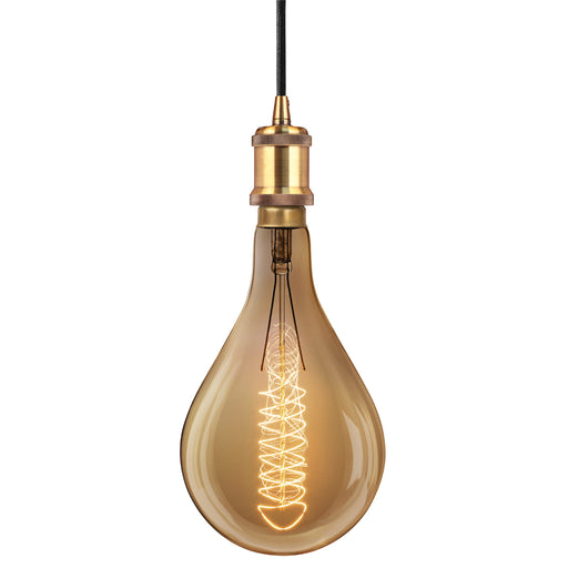 Feit PS52 Vintage Dimmable Bulb 2200K and Pendant
