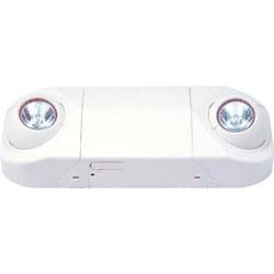 RMR-16 2 Lamp Emergency Fixture, White Housing, 120/277V