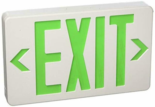 ***CLEARANCE*** Royal Pacific RXL5GW Standard LED Exit Sign GREEN Battery Backup