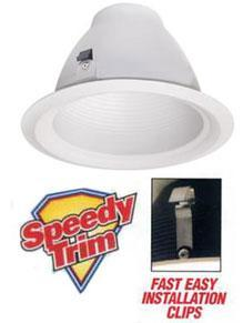 Recessed Trim 6 inch Airtight Speedy Baffle LightStore