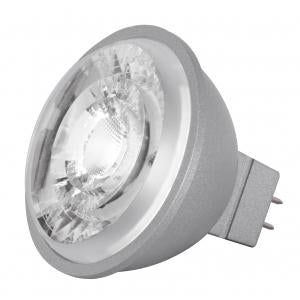 Satco S8636 8W LED MR16 3000K 15° GU5.3 Base 12V Bulb