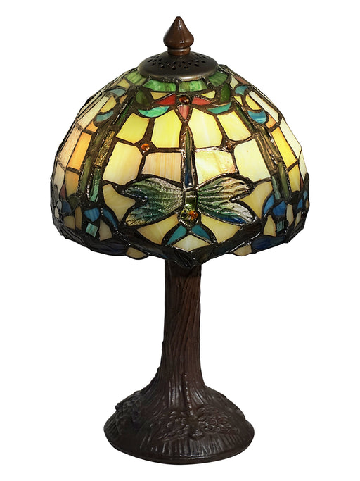 Dale Tiffany Poshe Dragonfly Tiffany Accent Lamp