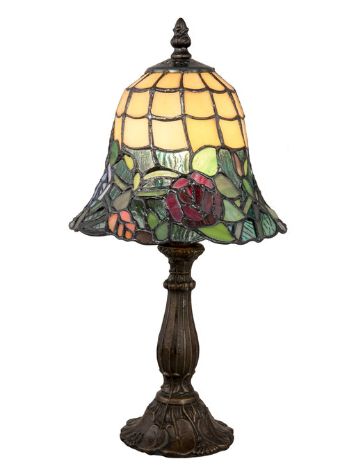 Walcott Rose Tiffany Accent Lamp