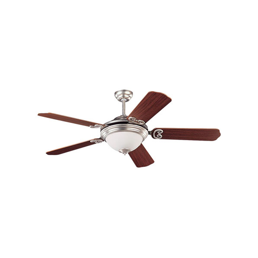 "***CLEARANCE*** SeaGull 15190BLE 52"" Park Avenue Elite Brushed Nickel Ceiling Fan"