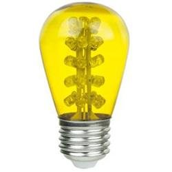 Sign Bulb Sunlite 80365-SU 1.1W LED S14 E26 Medium Base Yellow Sign Bulb LightStore