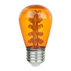 Sign Bulb Sunlite 80366-SU 1.1W LED S14 E26 Medium Base Amber Sign Bulb LightStore