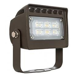Small Area Flood Westgate LF4-12WW-TR 12W LED Flood Light with Trunnion 3000K Westgate