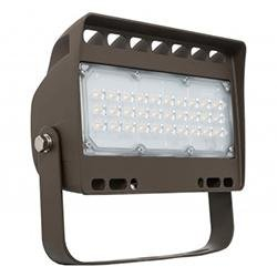 Small Area Flood Westgate LF4-50WW-TR 50W LED Flood Light with Trunnion 3000K Westgate