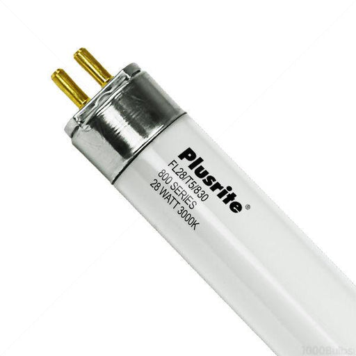 T5 Fluorescent FL28/T5 28 Watt T5 Linear Fluorescent Tubes (Case of 25) Plusrite