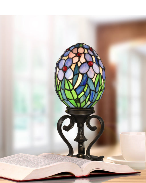 Rangel Egg Tiffany Accent Lamp