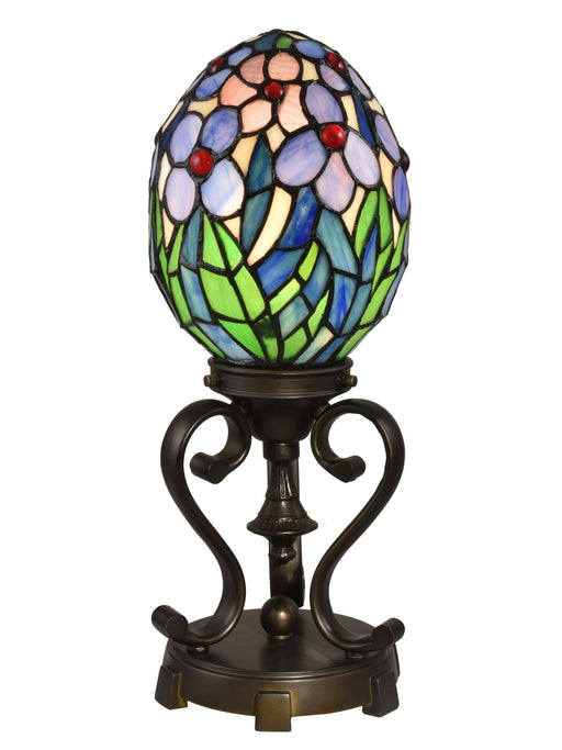 Rangel Egg Tiffany Stained Glass Accent Lamp