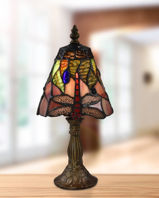 Dacia Dragonfly Tiffany Accent Lamp