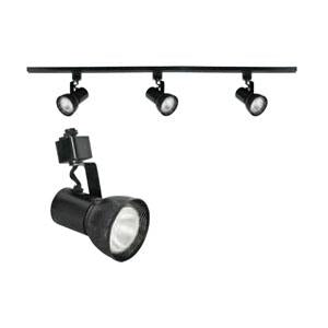 TF2931-31Three Light Track Light, Black