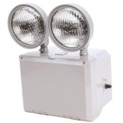 TFX-2 Wet Location 2 Head Emergency Light Unit, 120/277V