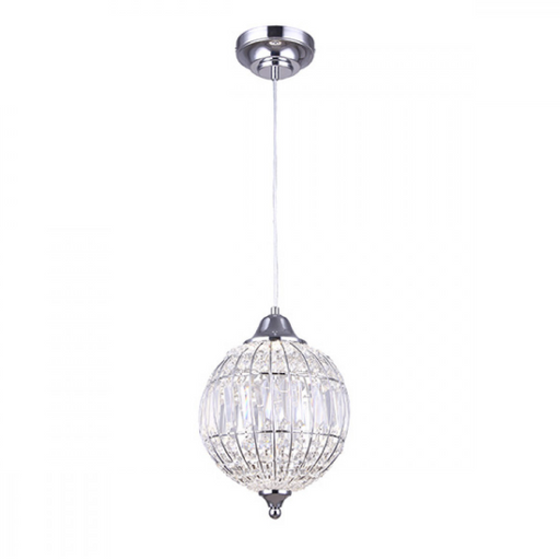 Canarm Tilly Crystal LED Pendant Chrome LPL145A09CH