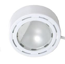 Xenon 12V White Puck Light W/ Bulb