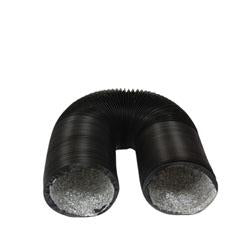 "UltraGROW UG-D/PVC/10 PVC Ducting 10"" with 2 Clamps 25'"