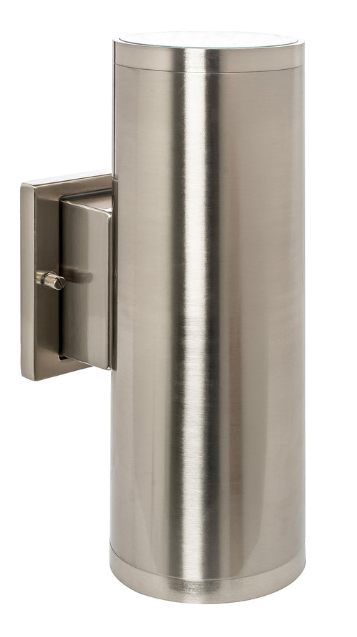 Westgate WMCL-UDL-MCT-BN Large Up/Down Wall Cylinder 40W Brushed Nickel