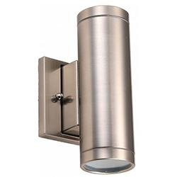 Wall Mount Cylinder Westgate WMC-UDL-20W-30K-BN 20W LED Outdoor Lighting Cylinder 3000K Westgate