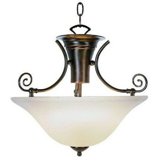***CLEARANCE*** AF Lighting Wellington 617280 3 Light Pendant Chandelier Oil Rubbed Bronze