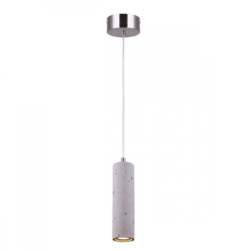 Canarm Cohen Cement & Brushed Nickel 1 Light LED Pendant LPL158A01BN4