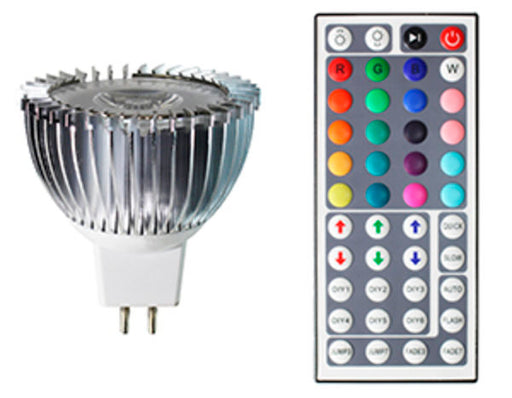Westgate MR16-5W-RGB LED MR16 RGB Color Changing Lamp With Remote