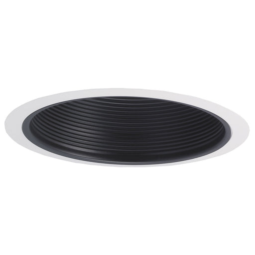 Nora Lighting NTM-30/2R 6 Inch Stepped Baffle Black