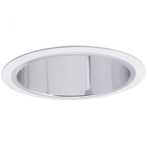 "Nora NTS-631C 6"" Specular Clear Reflector with White Ring"