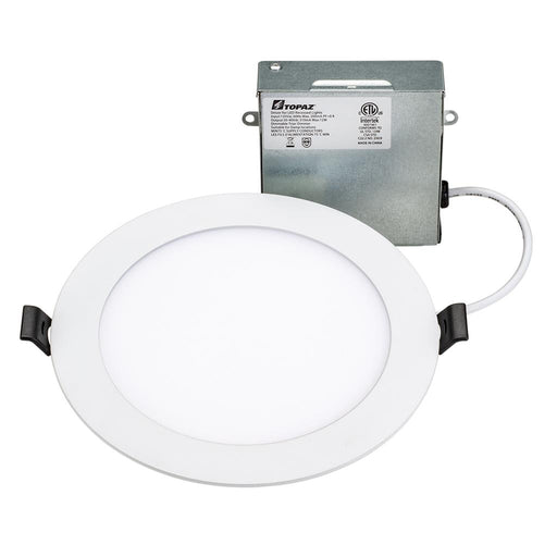 "Topaz RDL/6RND/12HL/5CTS 12W 6"" LED Round Recessed Downlight High Lumen 5 Color Temperature Selectable"