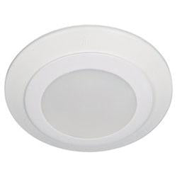 Sea Gull Lighting 14602S-15 White Flush Mount Light